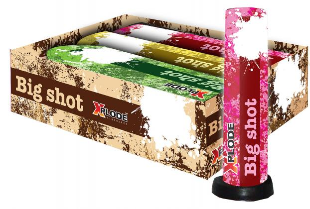 Xplode Big Shot Bombenrohr 30mm 3er Pack